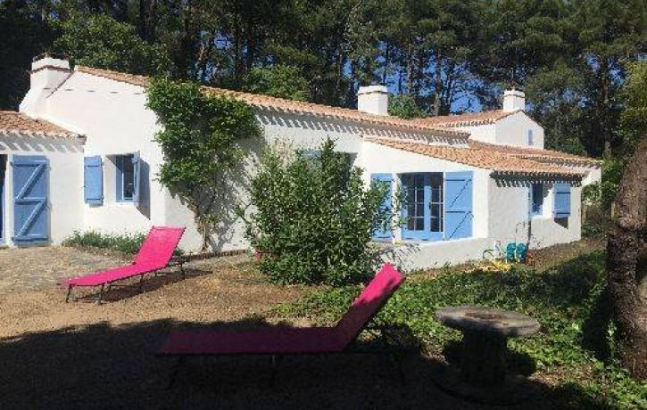 Maison À La L'ile Noirmoutier Bois Sur Mer De Chaize Dans Le Lq4R3ASc5j