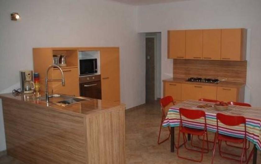 Location de vacances - Gîte à Rocbaron - Cuisine