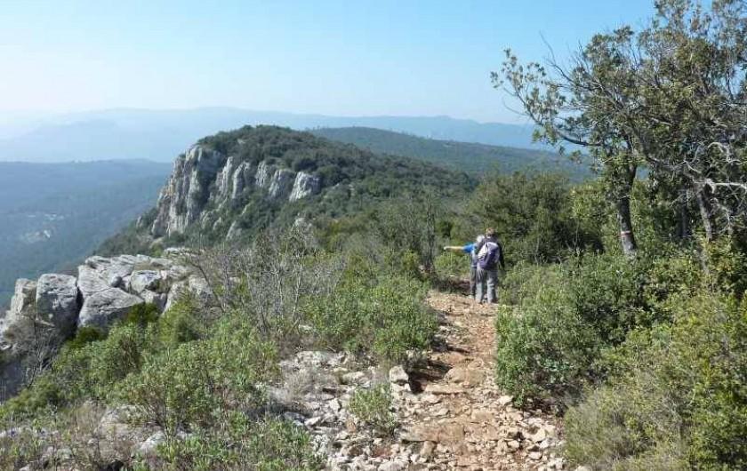Location de vacances - Gîte à Rocbaron - Randonnée La Bigue