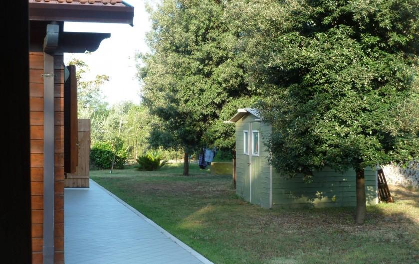 Location de vacances - Chalet à Pozzuoli - Un autre coin du jardin