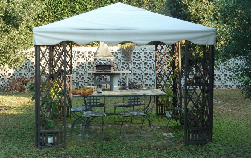 Location de vacances - Chalet à Pozzuoli - gazebo et barbecue