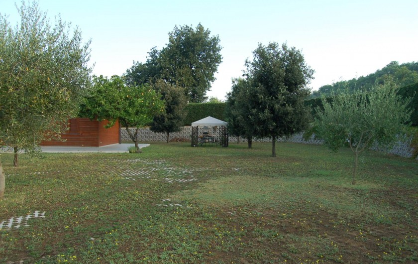 Location de vacances - Chalet à Pozzuoli - jardin sur le toit