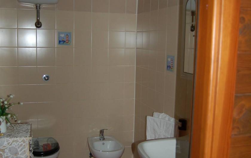 Location de vacances - Chalet à Pozzuoli - WC avec bidet