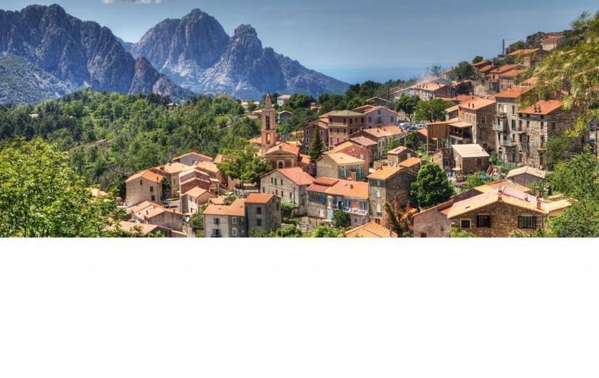 Location de vacances - Maison - Villa à Évisa - Le village d'Evisa