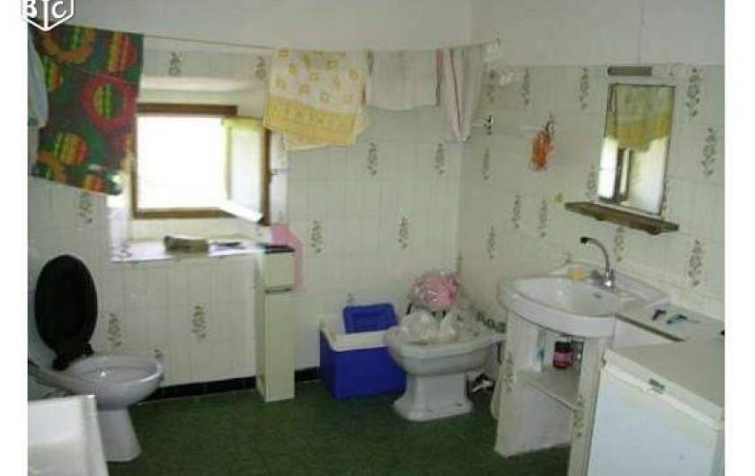 Location de vacances - Maison - Villa à Évisa - salle d'eau (niveau -1)