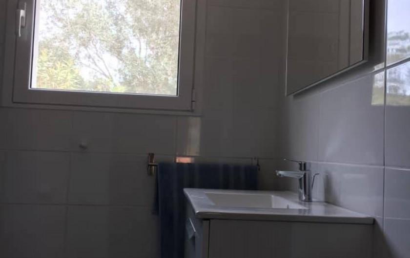 Location de vacances - Appartement à Sainte-Lucie de Porto-Vecchio - TERRASSE P8