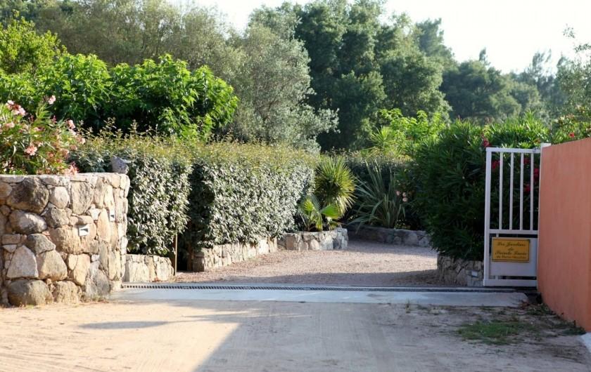 Location de vacances - Appartement à Sainte-Lucie de Porto-Vecchio - ENTRÉE