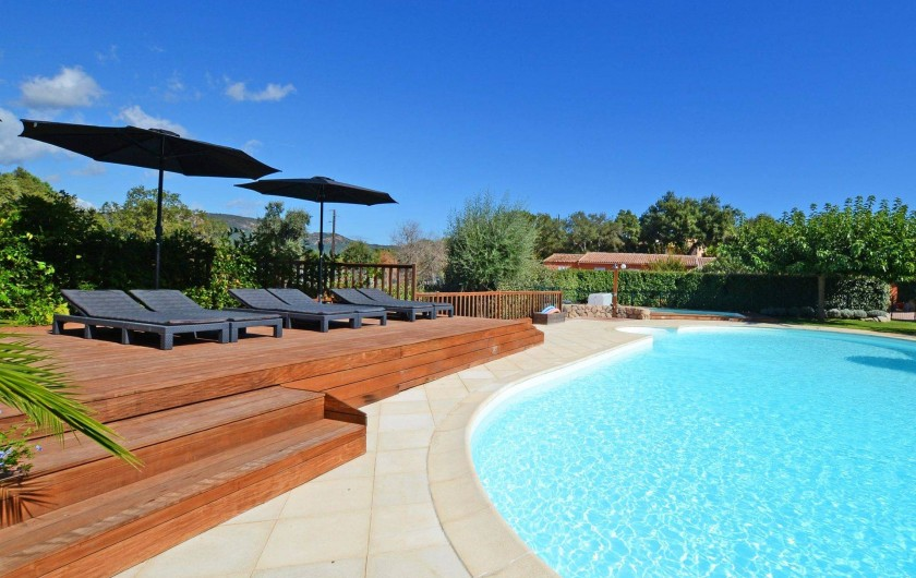 Location de vacances - Appartement à Sainte-Lucie de Porto-Vecchio