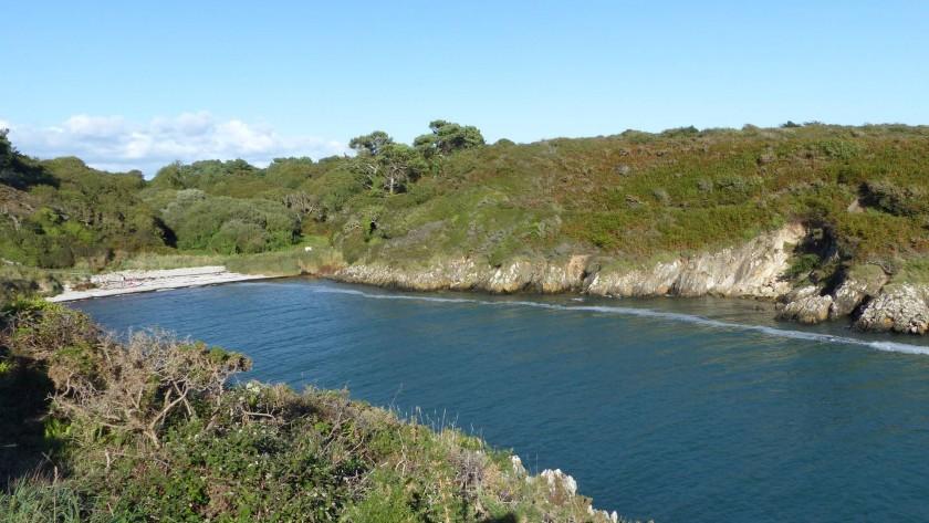 Poulguen ( Port Blanc ) à 3 minutes à pied de la maison