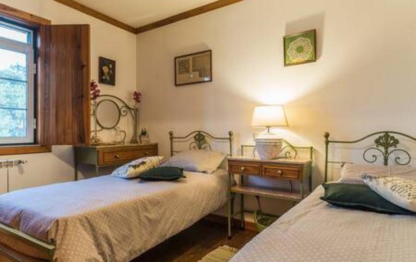 Location de vacances - Chambre d'hôtes à Alcobaça - chambre vert (2 lits)