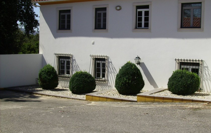 Location de vacances - Chambre d'hôtes à Alcobaça - accès à la villa