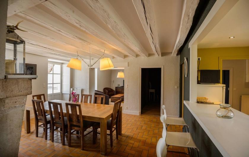 Location de vacances - Gîte à Chambord - Gîte de la Gabillière - salle à manger