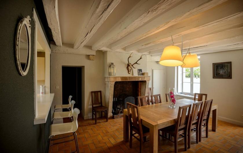 Location de vacances - Gîte à Chambord - Gîte de la Gabillière - salon