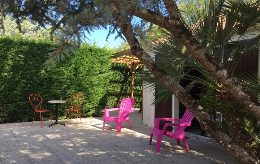Location de vacances - Gîte à Saint-Pierre-d'Oléron - Terrasse