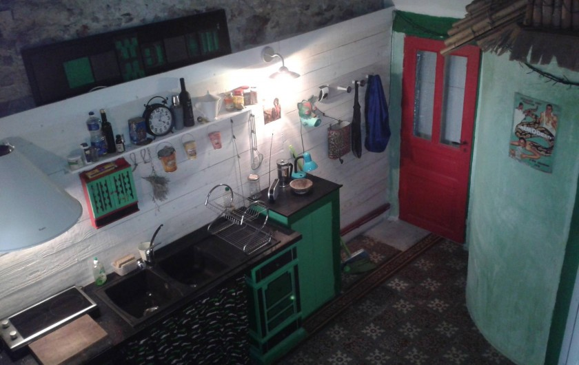 Location de vacances - Chambre d'hôtes à Sète - Casa Vassiliu cuisine