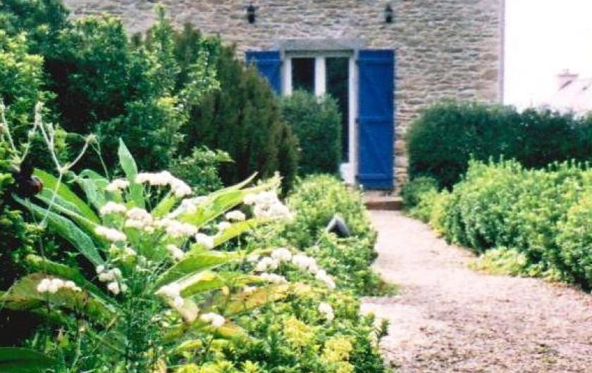 Location de vacances - Maison - Villa à Kersaint - la maison au fond du jardin