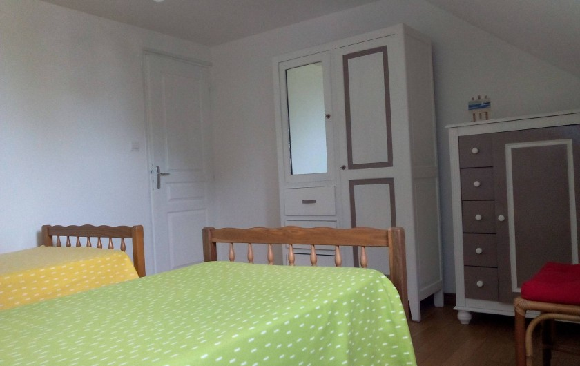 Location de vacances - Maison - Villa à Kersaint - LA CHAMBRE N°2