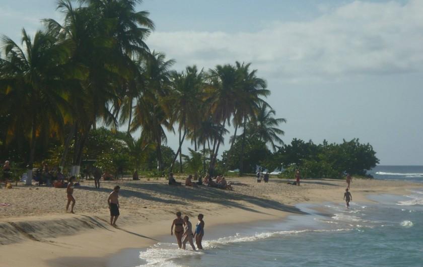 Location de vacances - Villa à Anse-Bertrand - plage de la chapelle