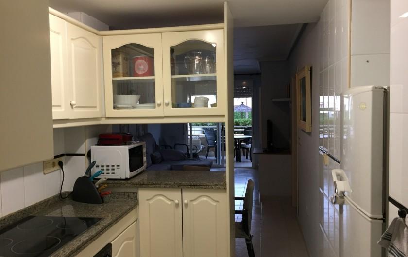 Location de vacances - Appartement à Dénia - CUISINE