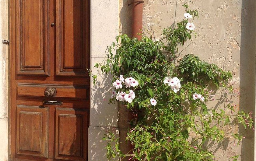 Location de vacances - Appartement à Cannes - la porte d'entrée