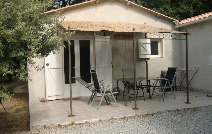 Location de vacances - Chalet à Petreto-Bicchisano - St Fiurenzu