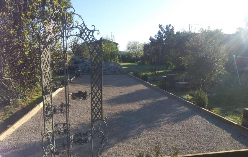 Location de vacances - Gîte à Haimps - terrain de pétanque