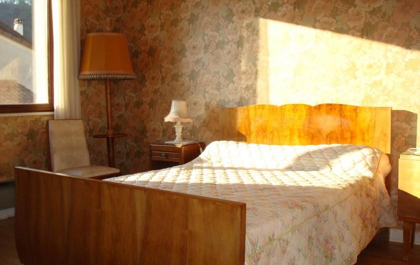 Location de vacances - Gîte à Pont-en-Royans - 1ère chambre.