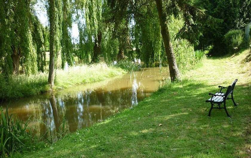 Location de vacances - Camping à Mézières-sous-Lavardin - lieu de détente