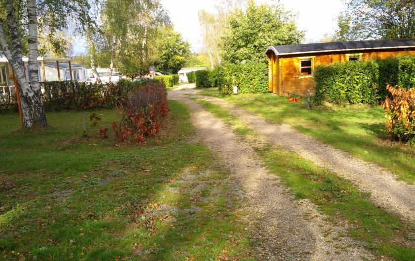Location de vacances - Camping à Mézières-sous-Lavardin - Le camping en Automne ... magique