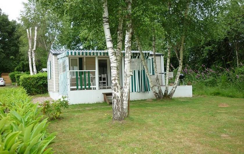 Location de vacances - Camping à Mézières-sous-Lavardin - Mobil-Home Luxe