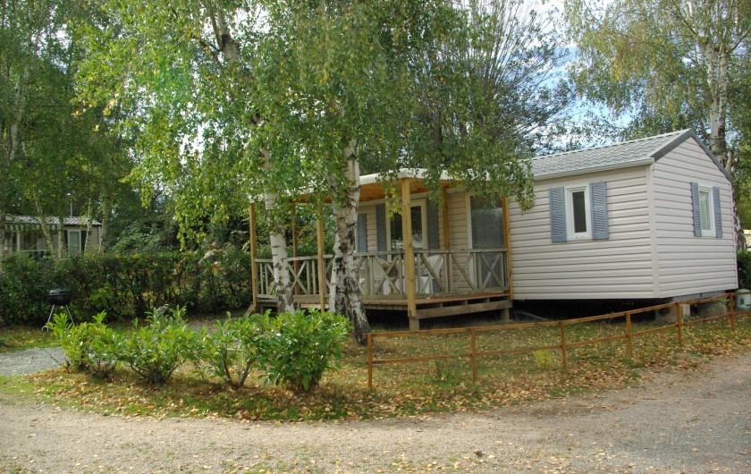 Location de vacances - Camping à Mézières-sous-Lavardin - Mobil-Home Premium