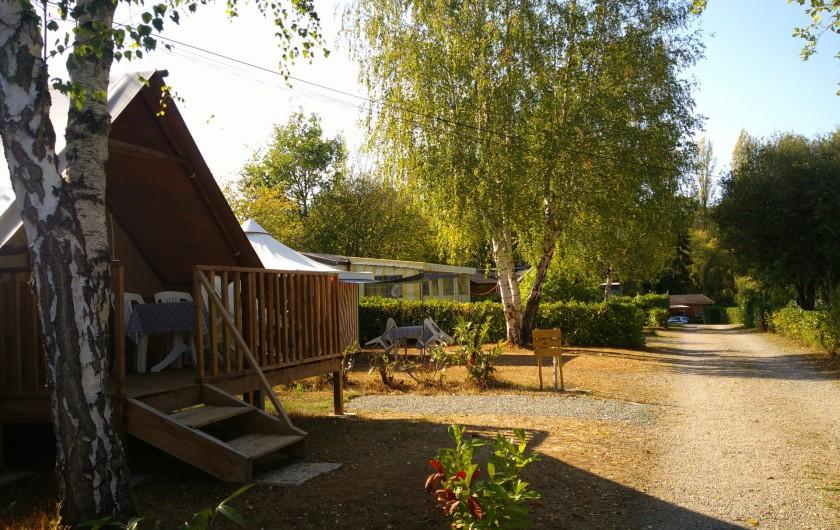 Location de vacances - Camping à Mézières-sous-Lavardin - un endroit tranquille et calme