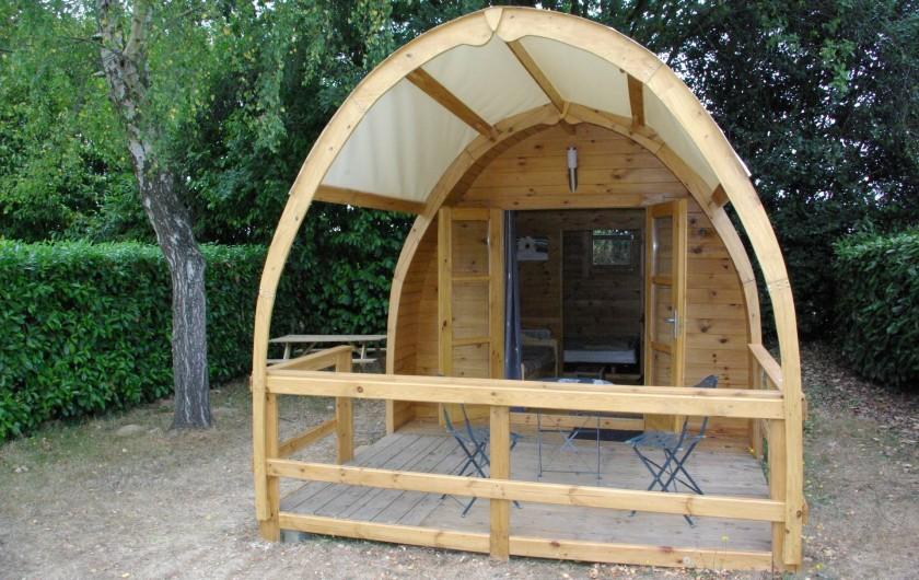 Location de vacances - Camping à Mézières-sous-Lavardin - Chalet Esprit Nature