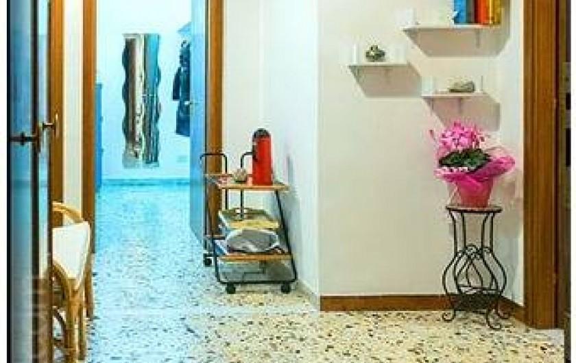 Location de vacances - Appartement à Rome - Entrée de l'appartement