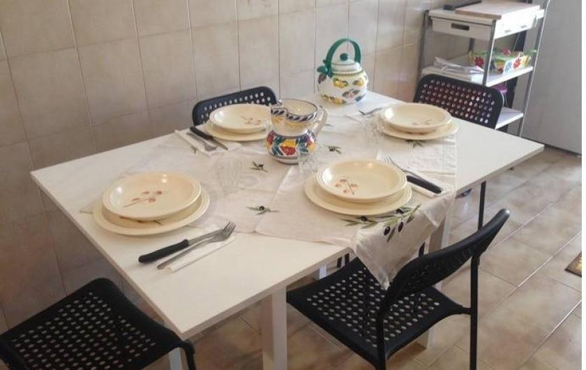 Location de vacances - Appartement à Rome - Table jusqu'à 6 sièges
