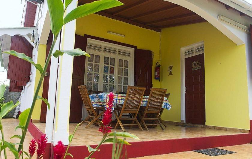 Location de vacances - Villa à Lamentin - villas avocatier