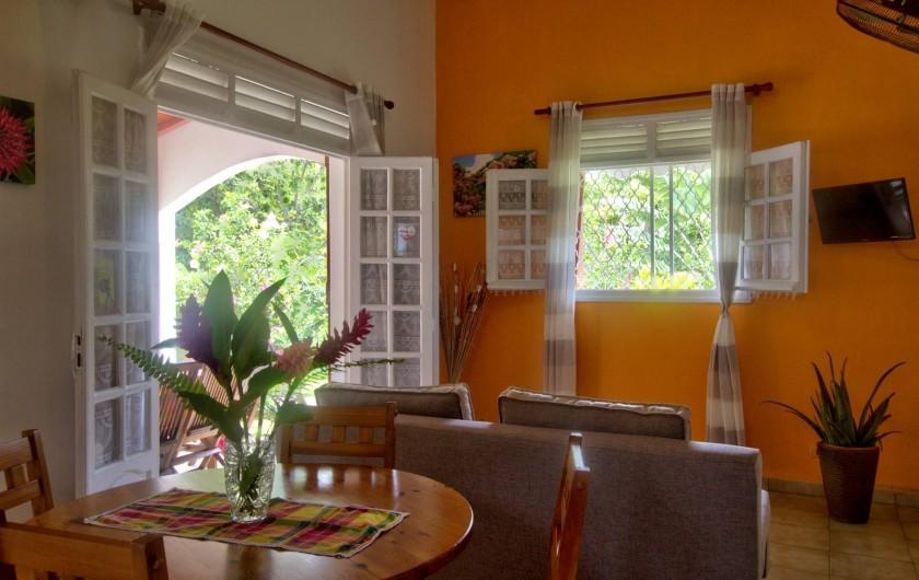 Location de vacances - Villa à Lamentin - salon