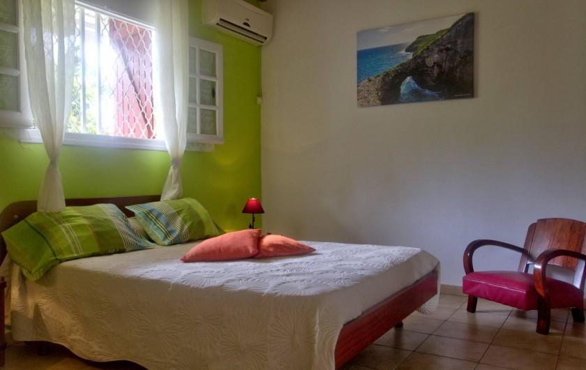 Location de vacances - Villa à Lamentin - chambre 1 villas
