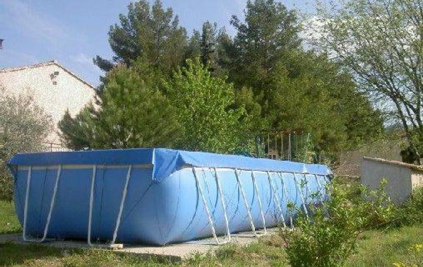 Location de vacances - Chalet à Laroque