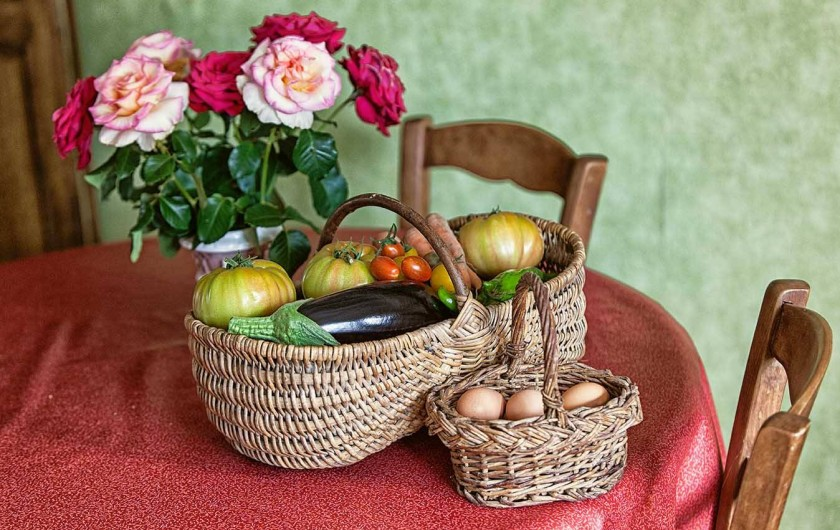 Location de vacances - Gîte à Reville - légumes bio de la ferme en vente à la VERDURA  à saint Vaast la Hougue
