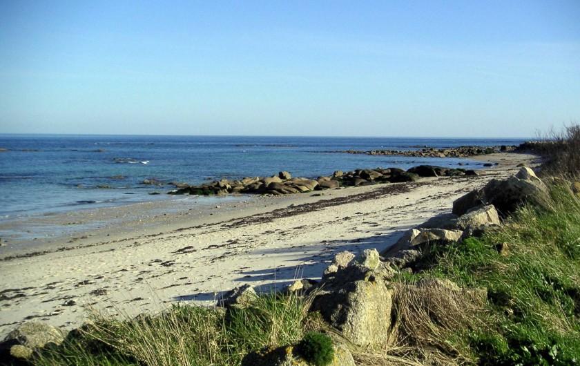 Location de vacances - Gîte à Reville - plage sauvvage