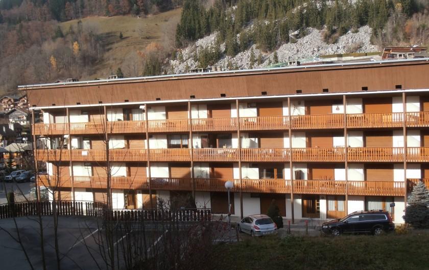 Location de vacances - Appartement à La Clusaz - résidence