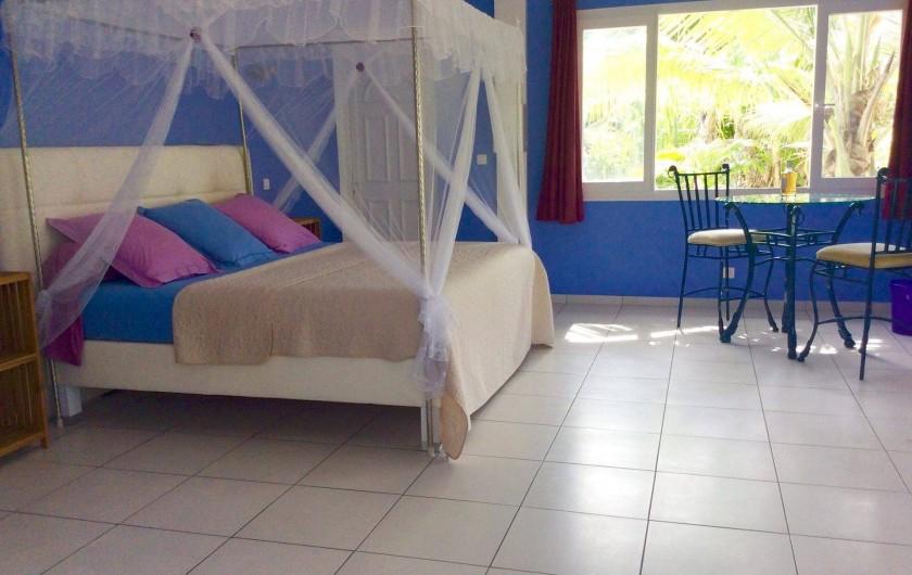 Location de vacances - Chambre d'hôtes à Le Gosier - Cuisine ou je fais la popote créole