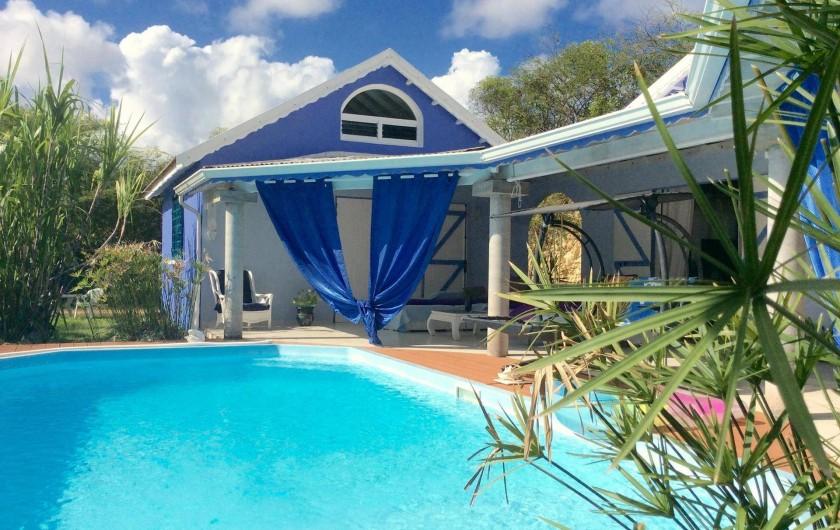 Location de vacances - Chambre d'hôtes à Le Gosier - Chez vous