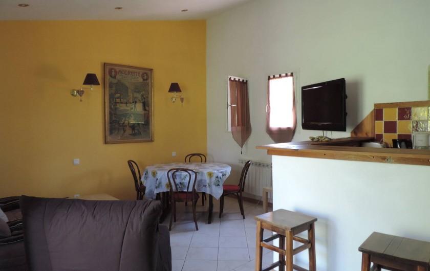 Location de vacances - Villa à Villecroze - SEJOUR