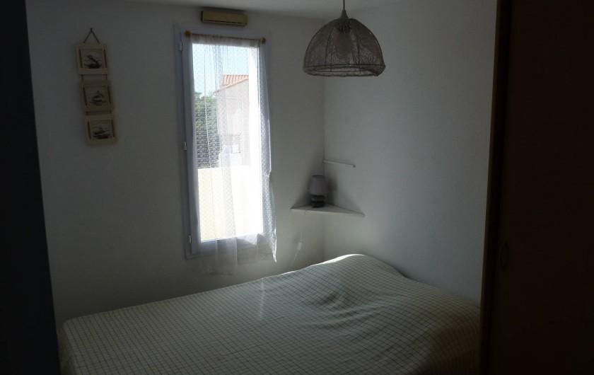 Location de vacances - Appartement à Le Château-d'Olonne - Chambre