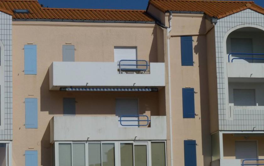 Location de vacances - Appartement à Le Château-d'Olonne - ici