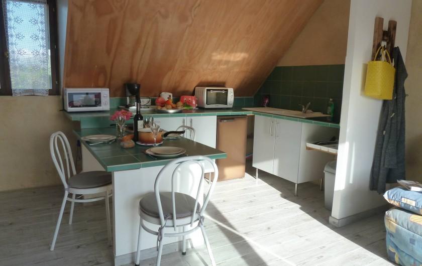 Location de vacances - Appartement à Pénestin - le coin cuisine