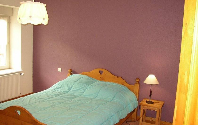 Location de vacances - Appartement à Les Planches-prés-Arbois - Chambre 2