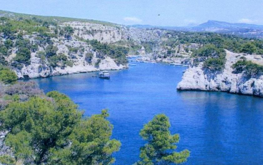 Location de vacances - Mas à La Ciotat - Calanques